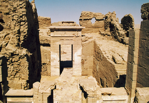 The Temple of Dush from the roof
