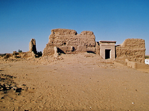The Temple of Qasr Zayyan
