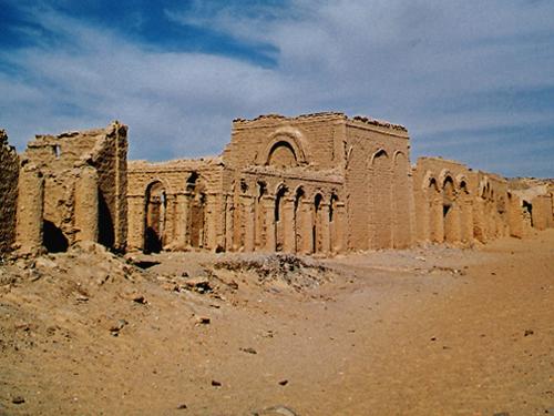 The cemetery of el-Bagawat