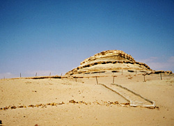 Tombs at el-Muzzawaka
