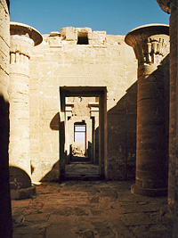 The temple at Qasr el-Gueita