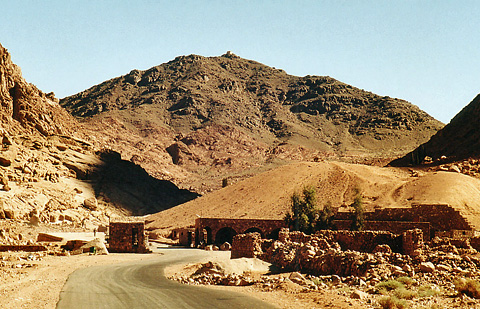 Entrance to St Catherine's Monastery