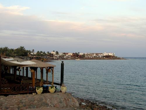 Dahab coastline