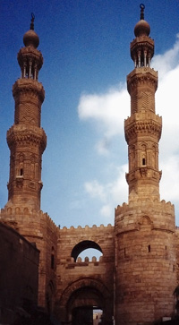Towers of Bab Zuwayla