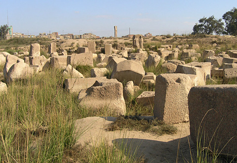 The Temple of Bastet at Bubastis