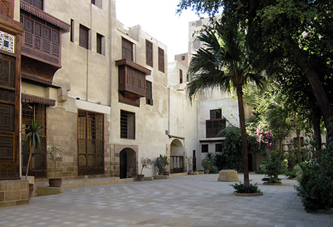 Courtyard of Beyt Suhaymi