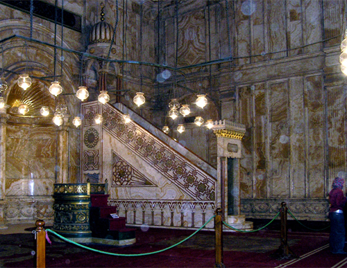 Mihrab in Mohammed Ali Mosque  (The Citadel)