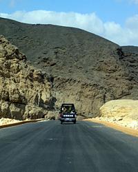 New road up the Royal Wadi