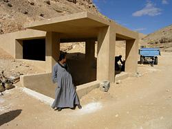 Entrance to the Tomb of Akhenaten