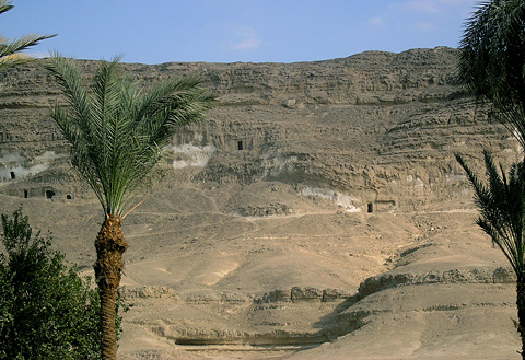 Tombs and quarries at el-Sheikh Said