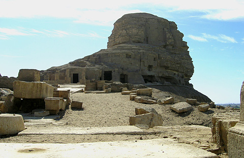 Tihna el-Gebel - ancient Akoris