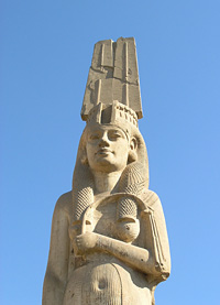Statue of Meritamun at Akhmim