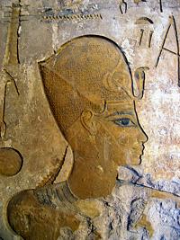 Amenhotep III in the Merenptah Museum