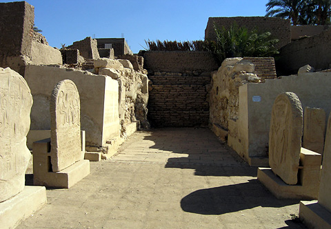 Stelae in the Qurna Temple of Seti I
