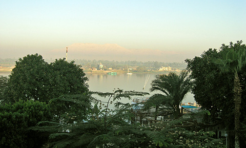 Early morning Nile view