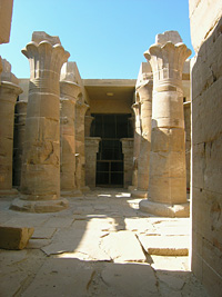 Hibis Temple hypostyle hall