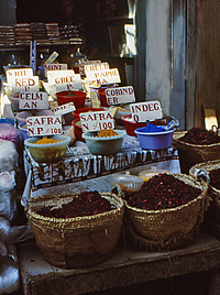 Spices in Luxor Suq