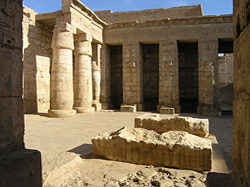 Medinet Habu - First Court