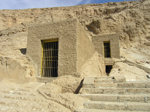 Old Kingdom tombs at el-Hammamiya