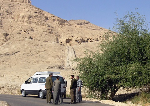 Middle Kingdom tombs at Qaw el-Kebir