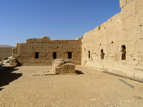Solar Court of Rameses II