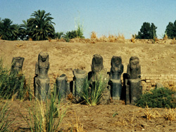 Statues of the goddess Sekhmet