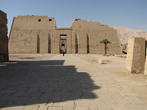 First Pylon at Medinet Habu