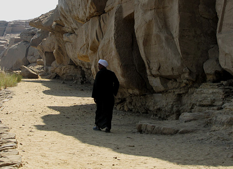 Rock shrines at Gebel el-Silsila