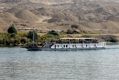 Dahabeya on the Nile