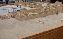 Model of Karnak Temple