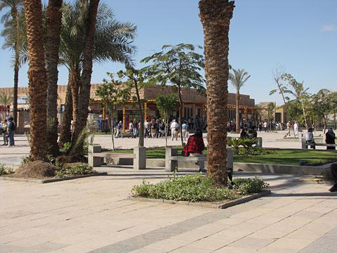 Landscaped Karnak