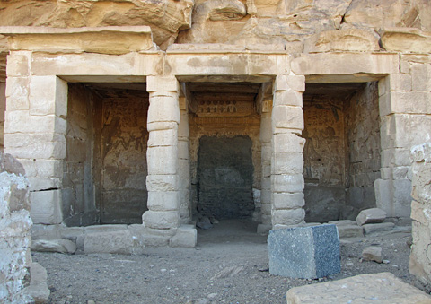 Temple of Seti I at Kanais