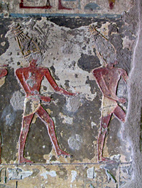 Muu Dancers in the Tomb of Renni