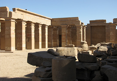 Portico Temple of Tuthmose IV