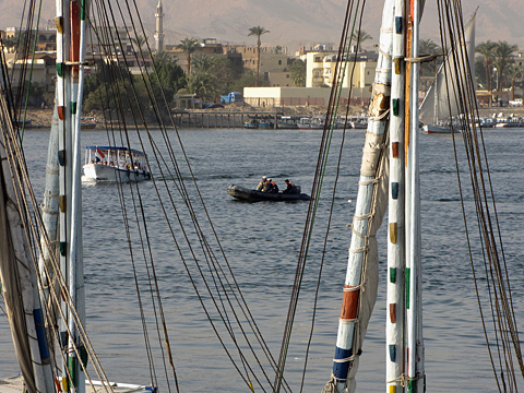 Activity on the River Nile