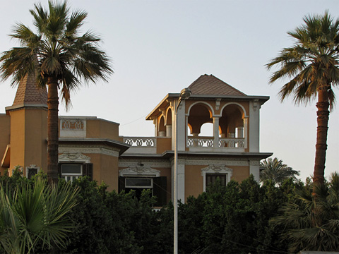 Beautiful building in Luxor
