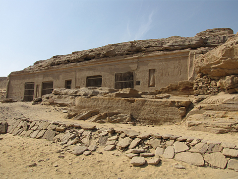 Speos of Horemheb, Gebel el-Silsila  West
