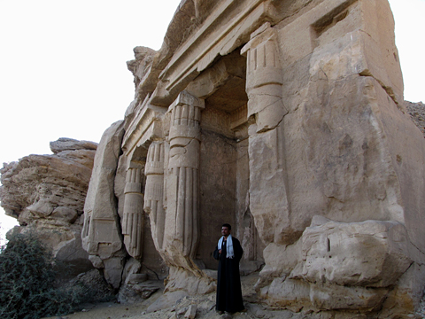 Royal Shrines at Gebel Silsila West