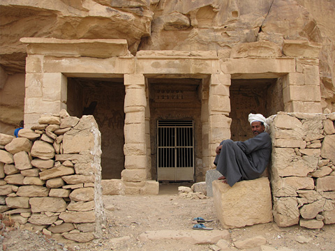 Rock-cut Temple of Seti I