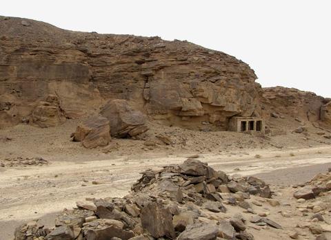 Temple of Seti I at Kanais