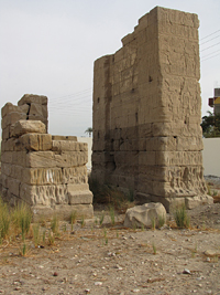 Temple of Isis at Deir el-Shelwit - Propylon