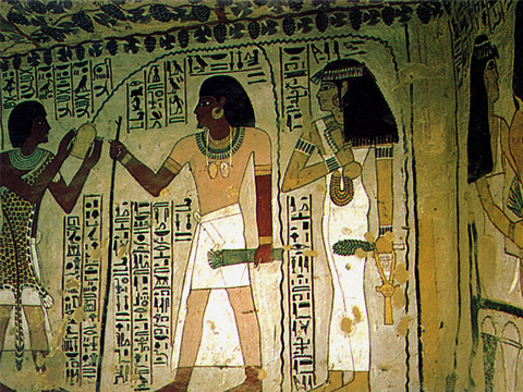 Paintings in the Tomb of Sennefer