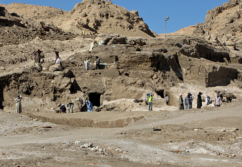 Excavations at Dra Abu'l-Naga