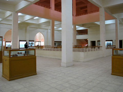 Upper floor of Kharga Museum