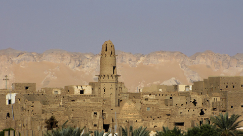 View over Qasr Dakhla