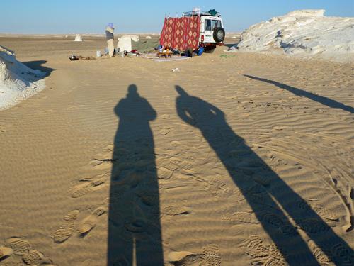 Our White Desert Camp