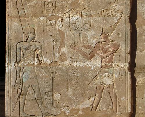 Reliefs at Qasr el-Ghueita