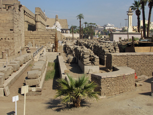 Luxor Temple Block Field