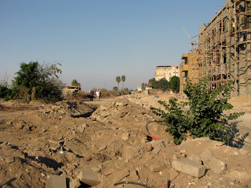 Luxor Corniche demolished